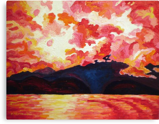 Red Mountain by Morgan Ralston