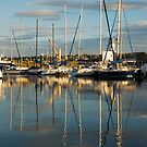 Harbour Reflections by StephenRB