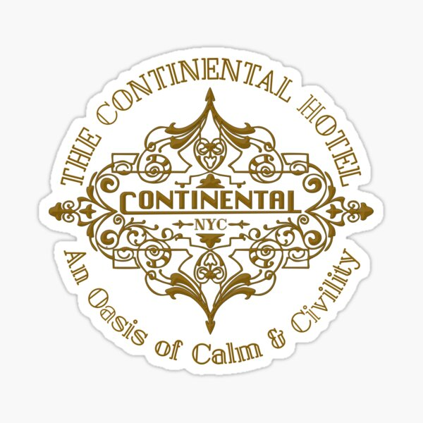 The Continental Sticker