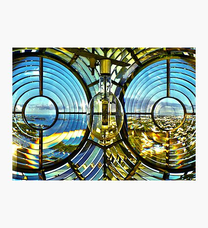 HDR Lens Photographic Print