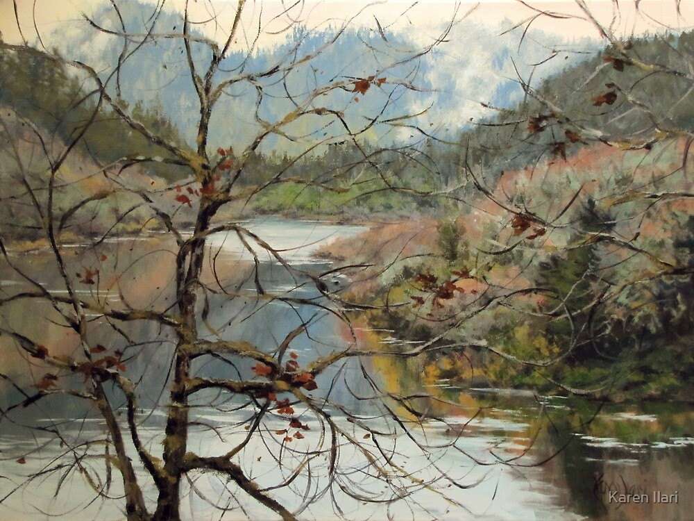 Traces of Autumn by Karen Ilari