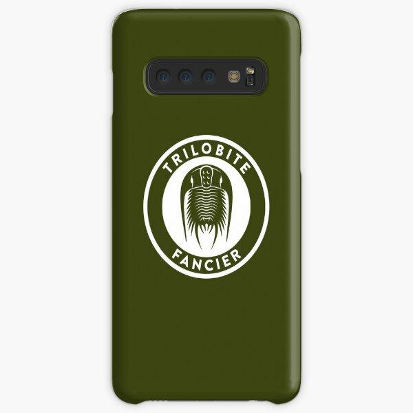 Trilobite Fancier (white on dark) Samsung Galaxy Snap Case