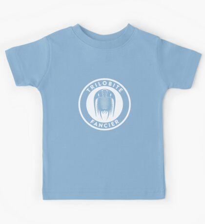 Trilobite Fancier (white on dark) Kids Clothes