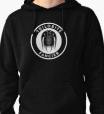Trilobite Fancier (white on dark) Pullover Hoodie