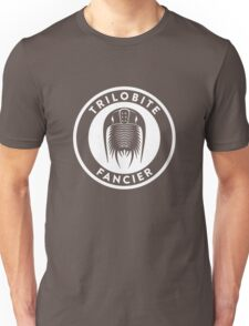 Trilobite Fancier (white on dark) T-Shirt