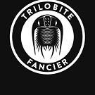 Trilobite Fancier (white on dark) by David Orr