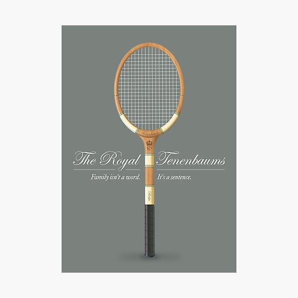 The Royal Tenenbaums - Alternative Movie Poster Photographic Print