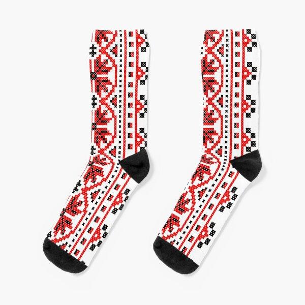 Ukrainian folk costume pattern Socks