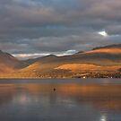 Moody Loch Fyne by Sue Knowles