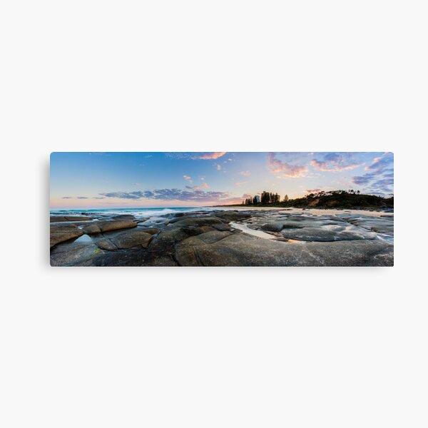 Point Cartwright Sunset Panorama Canvas Print