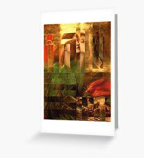 Rossetti Tetris. Greeting Card