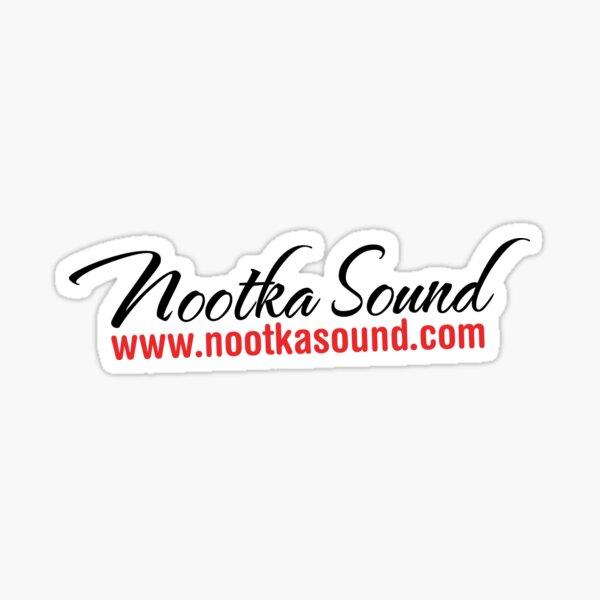 NootkaSound.com Logo - Nootka Sound, BC Sticker