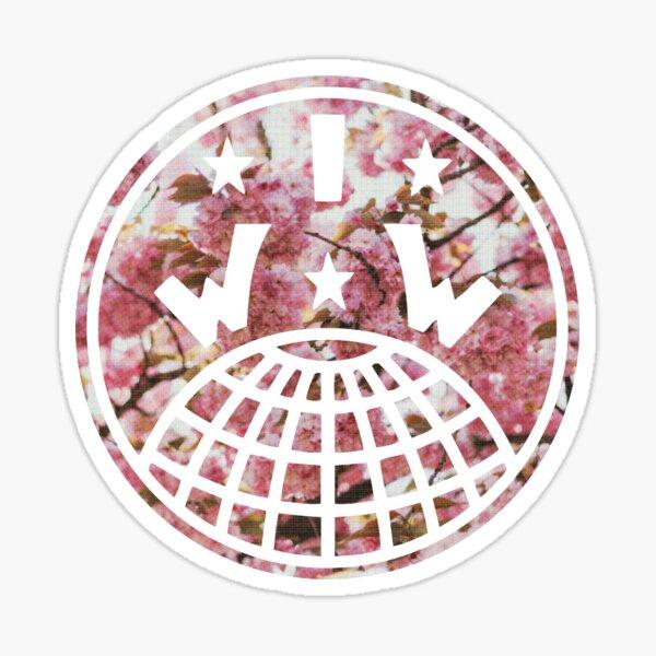 Logotipo de IWW (a e s t h e t ic) Pegatina