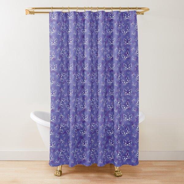 All the Kitties Shower Curtain
