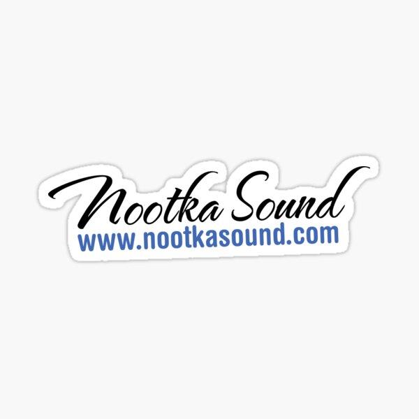 #2 NootkaSound.com Logo - Nootka Sound, BC Sticker