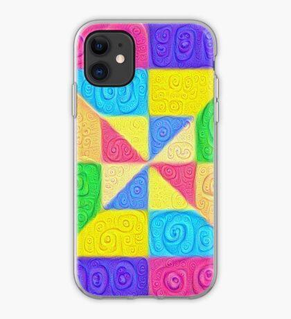 DeepDream Color Squares Visual Areas 5x5K v1448115896 iPhone Case