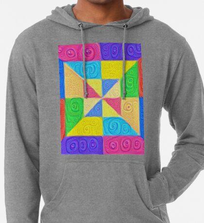 DeepDream Color Squares Visual Areas 5x5K v1448115896 Lightweight Hoodie