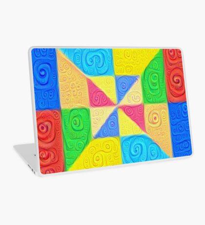 DeepDream Color Squares Visual Areas 5x5K v1448115896 Laptop Skin