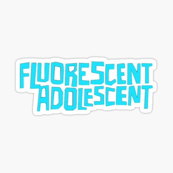 adolescents singes arctiques fluorescents Sticker