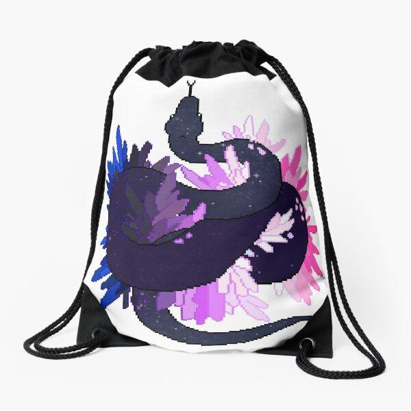 Genderfluid Pride Galaxy Python (requested) Drawstring Bag