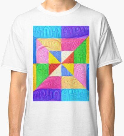 DeepDream Color Squares Visual Areas 5x5K v1448123183 Classic T-Shirt