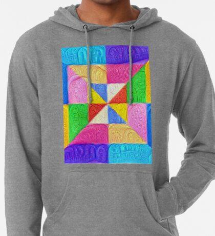 DeepDream Color Squares Visual Areas 5x5K v1448123183 Lightweight Hoodie