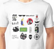 Thug life collage Unisex T-Shirt