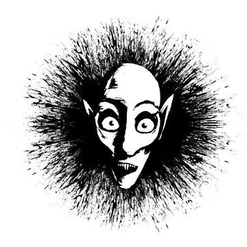 Nosferatu Splat by MrBradd