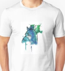 Studio Ghibli Totoro watercolour T-Shirt