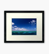 MCC Great Barrier Reef Framed Print