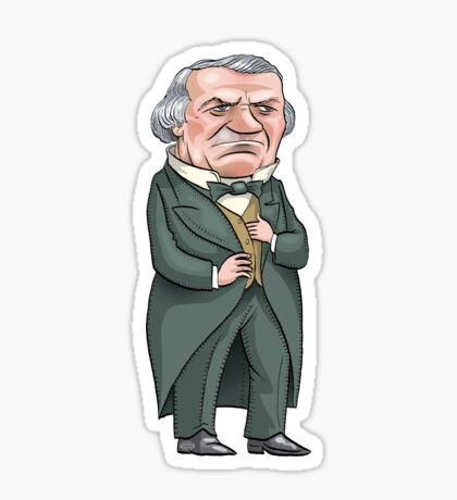 President Andrew Johnson Sticker