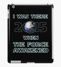 The Force Awakened 2015 iPad Case/Skin