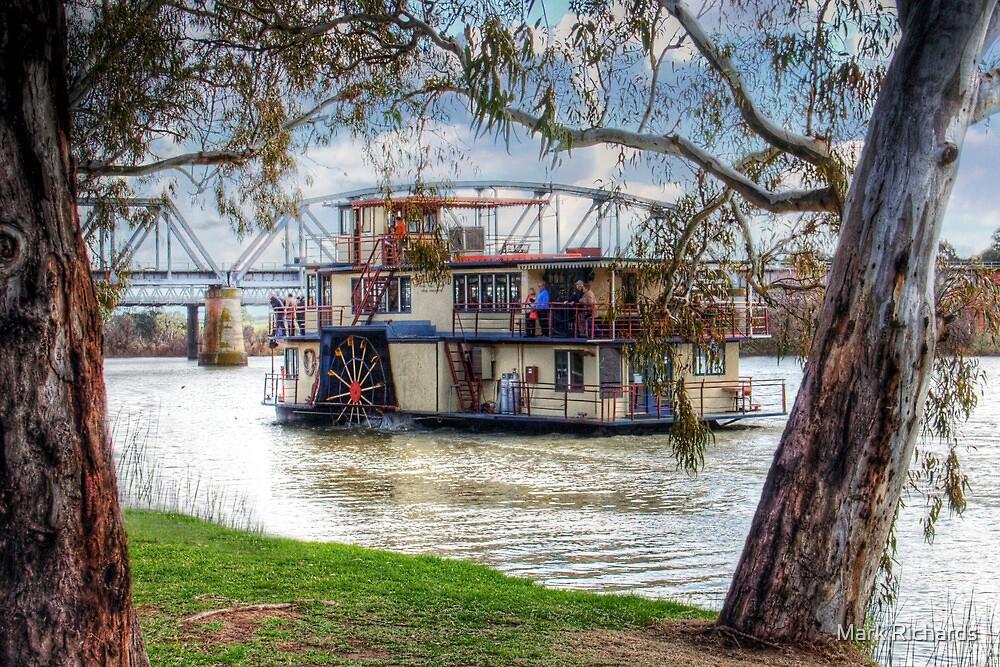 A River Cruise - Captain Proud, Murray Bridge, Murraylands by Mark Richards