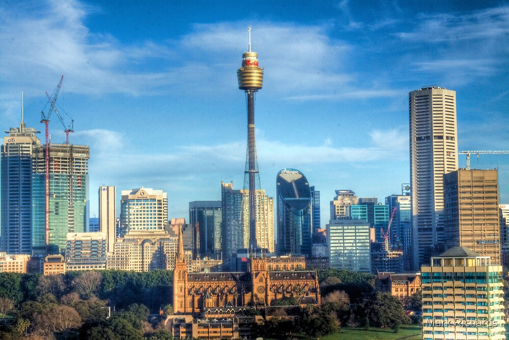 Quot The Tower Sydney Tower Sydney New South Wales Quot By