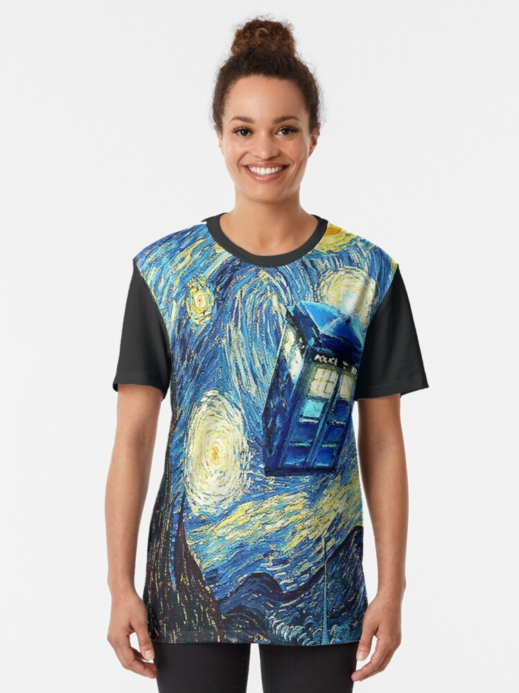 Alternate view of Van Gogh Graphic T-Shirt