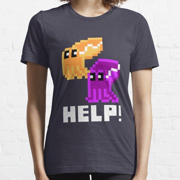 Help! Save the Cuttlefish Cute Pixel Art Shirt (Dark) Essential T-Shirt