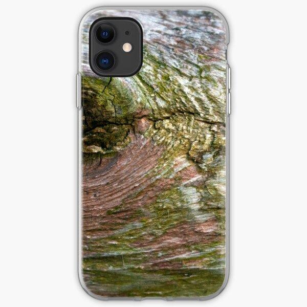 Moldy Tree Bark  iPhone Soft Case