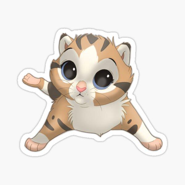 Aoife the little kitten! Sticker
