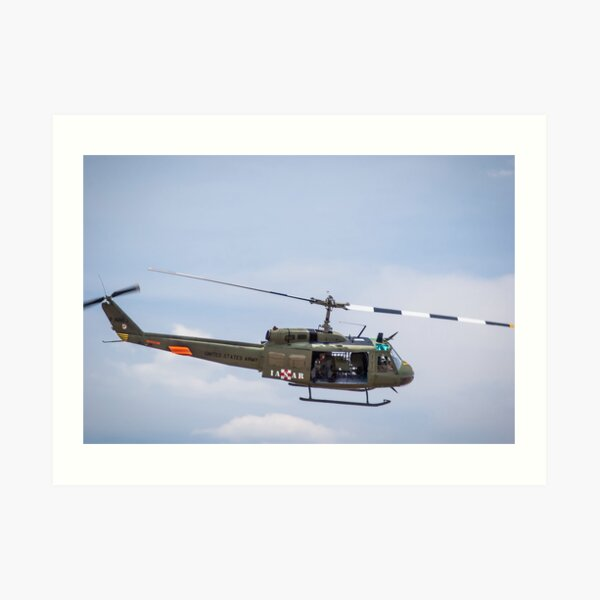 Vietnam Helicopter Art Prints Redbubble