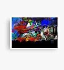 Pulp Planet Terrain Canvas Print