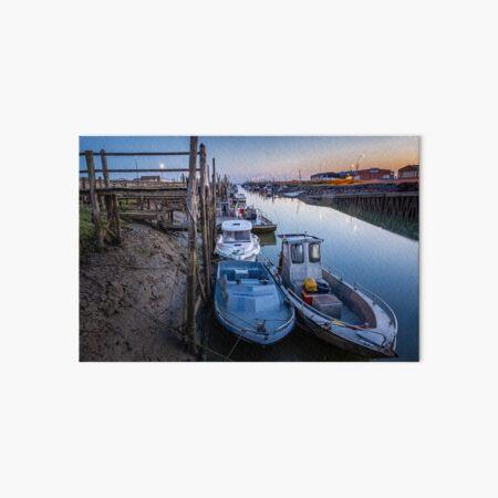 Port du Bec à Beauvoir-sur-mer en Vendée Impression rigide