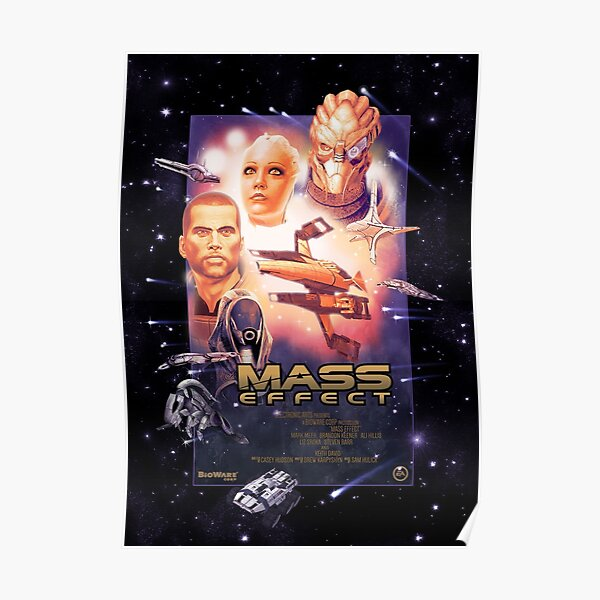 ME1 Poster, Bro Edition Poster