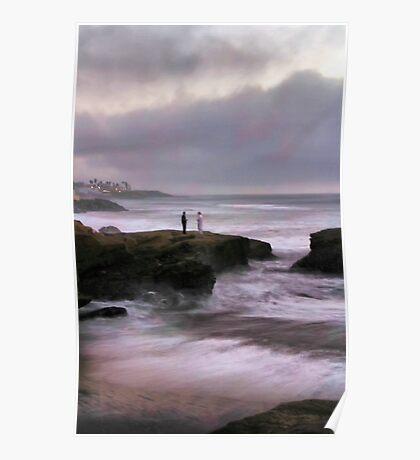 On Sunset Cliffs Poster