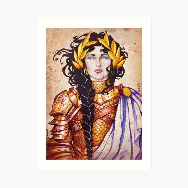 Warrior Women: PALADIN Art Print