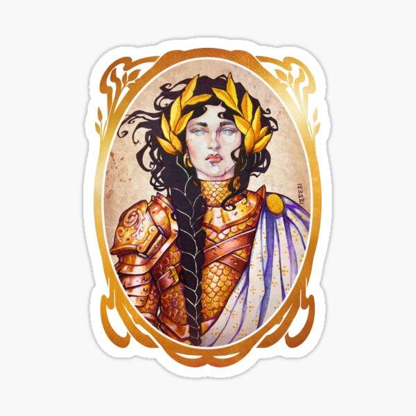 Warrior Women: PALADIN Sticker