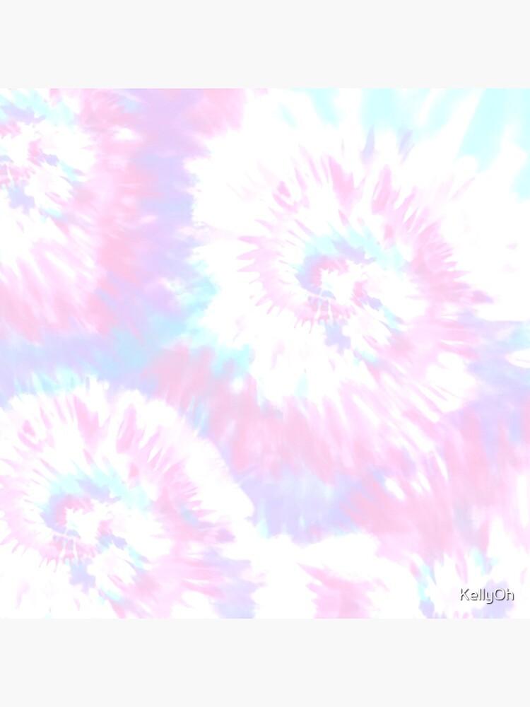 Pastel Sprial Tie dye  by KellyOh