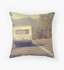 Grey Nomad... Throw Pillow