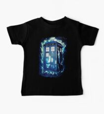 Dr Who Tardis - British Police Box Lost In Space Baby Tee