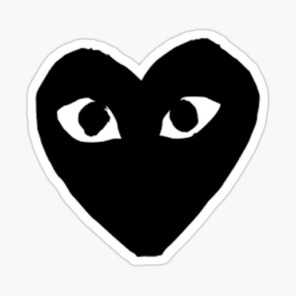 Comme Des Garcon (black) Sticker