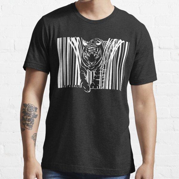 WEISSER TIGER BARCODE Essential T-Shirt